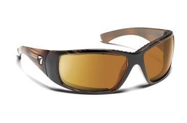 7eye 574342 Mens Taku Rx Progressive Sunglasses Airdam Horn Frames
