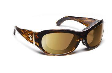 7eye 310642 Womens Briza Rx Progressive Sunglasses Airshield Sunset Tortoise Frames