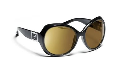 f575533f42c 7eye 820546 Womens Lily Single Vision Sunglasses Active Lifestyle Glossy  Black Frames