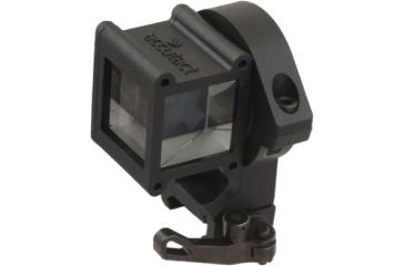 Accutact Angle-Sight w/ Positive Lock Quick Release Picatinny Mount, Black