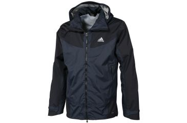 c5c4f8faedc4c Adidas Outdoor Hiking 2-Layer Hybrid CPS Jacket - Men s-Black-Small
