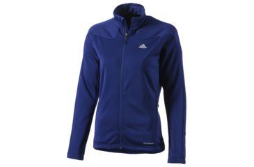 outlet store 39641 98db0 Adidas Outdoor Hiking Trekking One Sided Fleece Jacket - Women s-Hero Ink-X