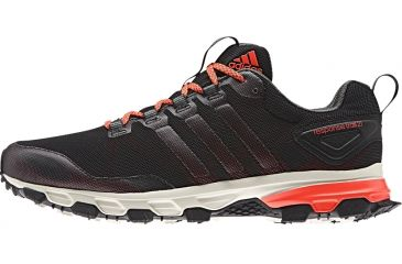 the latest c44d6 8932a Adidas Outdoor Response 21 Trail Running Shoe - Mens-Black Red Green-