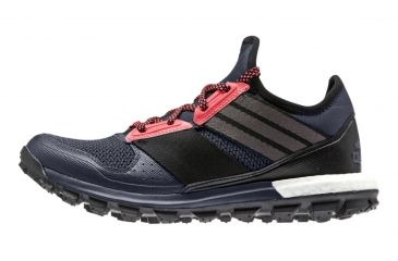 quality design 2ce8c a0a54 Adidas Outdoor Response Trail Boost Trail Running Shoe - Womens -GreyBlackRed