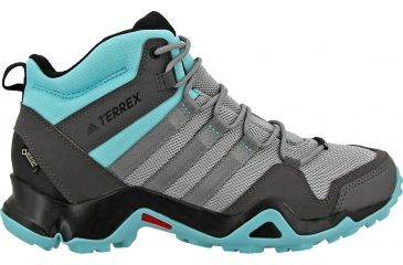 sports shoes 4cd4c e5bcd Adidas Outdoor Terrex AX2R Mid GTX Hiking Boot - Women s-Solid Grey Black-