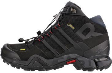 dd90b33a818e0 Adidas Outdoor Terrex Fast R Mid GTX Hiking Boot - Women s-Black Dark Grey