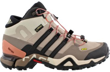 best sneakers ee1e9 8d2e8 Adidas Outdoor Terrex Fast R Mid GTX Hiking Boot - Womens-Vapour GreyBlack