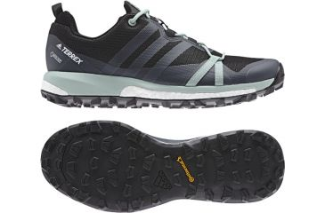 best loved f8c83 553ca Adidas Outdoor Women s Terrex Agravic GTX Trailrunning Shoes, Carbon Grey  Three Ash Green