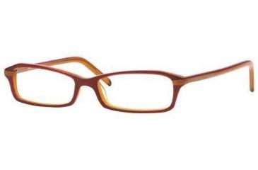 Adrienne Vittadini AV7011-617-5015 Eyeglasses with Rx Prescription Lenses 50 mm Lense Diameter / Black-lavender Frame