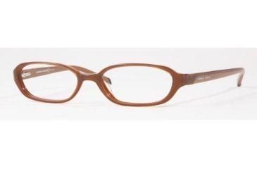 Adrienne Vittadini AV7015-634-5216 Eyeglasses with Rx Prescription Lenses 52 mm Lense Diameter / Black-pink Frame