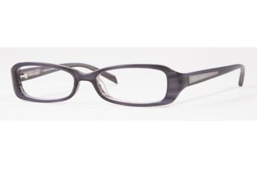 Adrienne Vittadini AV7021-634-4915 Eyeglasses with Rx Prescription Lenses 49 mm Lense Diameter / Black-pink Frame