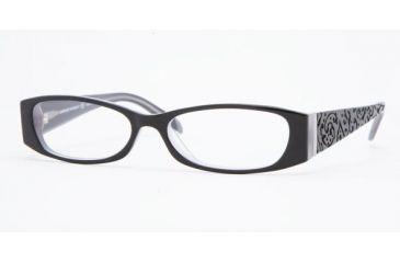 Adrienne Vittadini Eyeglasses AV7036 with Lined Bi-Focal Rx Prescription Lenses