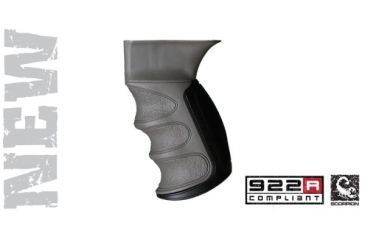 Advanced Technology AK-47 Scorpion Recoil Pistol Grip, Destroyer Gray A5402346