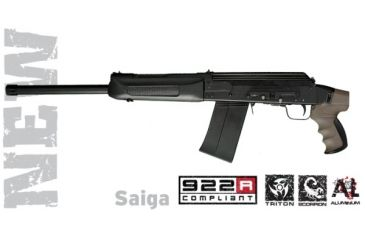 Advanced Technology Saiga Talon Tactical Shotgun Rear Pistol Grip Desert Tan w/ Scorpion Recoil Pistol Grip A5202354