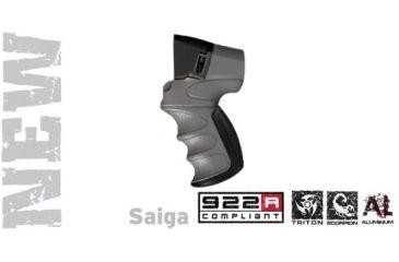 Advanced Technology Saiga Talon Tactical Shotgun Rear Pistol Grip Destroyer Gray w/ Scorpion Recoil Pistol Grip A5402354