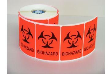 VWR Vwr Label Biohazard Red Cs500 VWR-L1-C, Unit CS