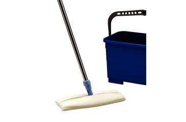 Advantech Manufacturing Vwr Cleanroom Flat Mop 9 Cs24 FM720-9, Unit CS
