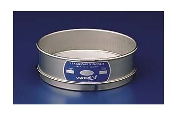 Advantech Manufacturing Testing Sieves, All Stainless Steel 200SS8F Full Height