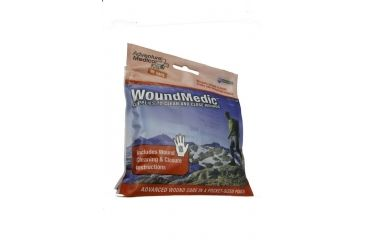 Adventure Medical Kits Wound Medic - First Aid Kit for Wounds 0185-0103
