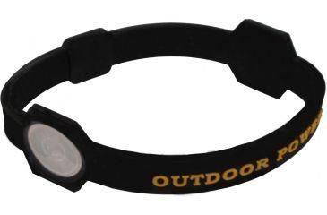 AES Optics Team Realtree Outdoor Power Bracelet, Medium, Black 99018