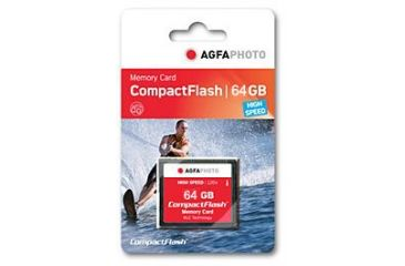 AGFAPhoto Compact Flash Card 64GB - AP64GBCF250X
