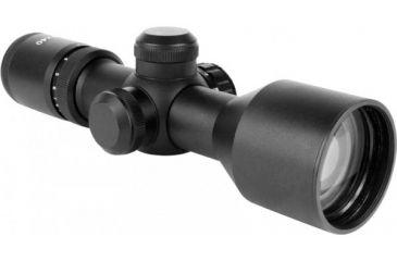 AIM Sports Inc 2.5-10x40 Dual Illuminated Compact Scope w/Green Laser JDG251040G-N