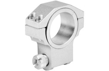 AIM Sports Inc 30mm Ruger Ring /1in Insert/High Profile/Silver QRS02
