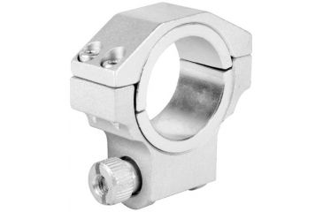 AIM Sports Inc 30mm Ruger Ring /1in Insert/Low Profile/Silver QRS01