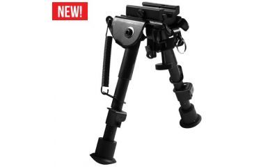 AIM Sports Inc 6in H. Style Spring Tension Bipod/Small BPHS01