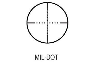 AIM Sports Inc 6x40 Fixed Power Full Size Rifle Scope w/ Mil-Dot Reticle/Rings JL640B