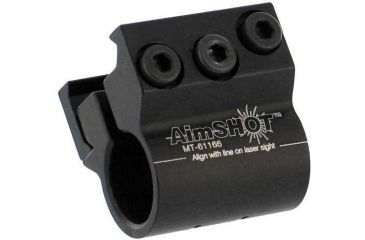 1-Aimshot Black Laser Sight Rail Mount MT61166