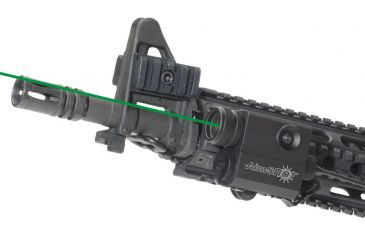 AimShot LS8103 Compact Green Laser Sight Kit w/ Curly Cord Pressure Pad KT8103