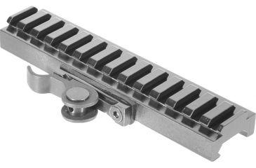 AimShot Quick Release Rail Adapter - 140mm Picatinny Rail Low Profile MT61172-140LP