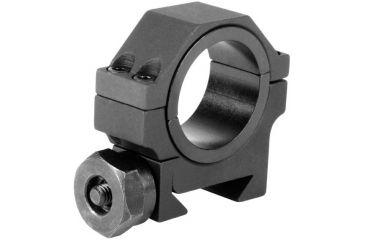 AimSports 30mm Weaver Rings/1in. Insert Heavy Duty Low, Black QW30TL
