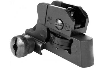 AimSports AR15/M16 Detachable Rear Sight, Black MT023