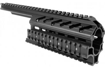 AimSports Galil Tactical Quad Rail, Black MG001Q