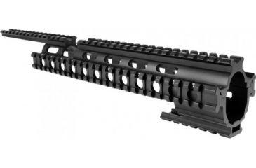 AimSports Ruger 10/22 Tactical Quad Rail, Black M1022Q