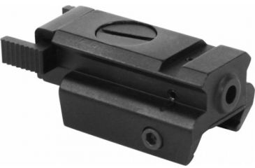 AimSports Tactical Red Laser Sight With Sliding On/Off Switch, Black LH003