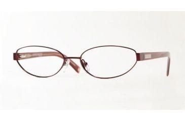 AK Anne Klein AK9080-478S-5116 Eyeglasses with Non-Rx Lenses 51 mm Lense Diameter / Cocoa-Tort Frame w/Non-Rx Lenses