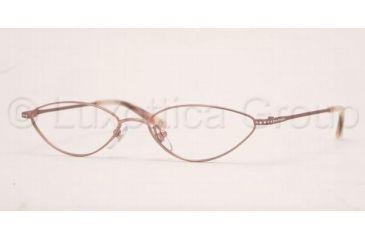 AK Anne Klein AK9082 Eyeglasses with Non-Rx Lenses 471-5315 - Light Brown