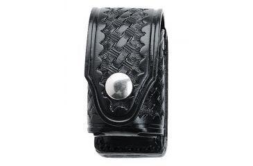 Aker Leather Black Basketweave Lh,lin Sw N Frame 4inch - H121BWLL-LRG 4