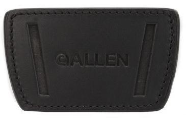 Allen Glenwood Belt Slide Leather Holster, Medium, Black 112922