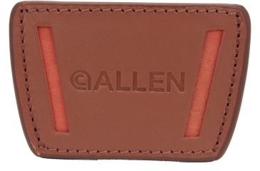 Allen Glenwood Belt Slide Leather Holster, Small, Brown 112919