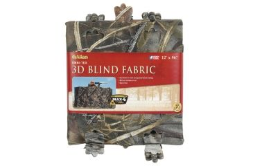 Allen Omni-Tex Die-Cut Leaf Pattern Blind Fabric Realtree Max-4 Camouflage 56 Inches X 12 Feet