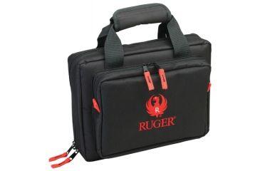 Allen Ruger Duoplex Attache 9x11.5 Inches Black/Red