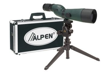 Alpen 20-60x60 Waterproof Spotting Scope w/ Micro Adjustable Tripod 742KIT