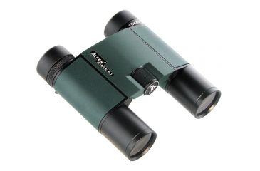 Alpen Wings 10x25mm ED PXA Coated Waterproof Roof BaK4 Prism Binoculars, Black/Green 599