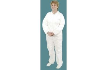 Alpha Pro Tech Critical Cover Microbreathe Coveralls CV-04032-5 Elastic Cuffs, Ankles, And Back