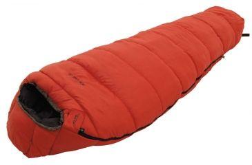 Alps Mountaineering Echo Lake 20 Sleeping Bag Synthetic Red