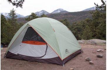 Alps Mountaineering Meramac Sage/Rust Tent, 4 Person 60304